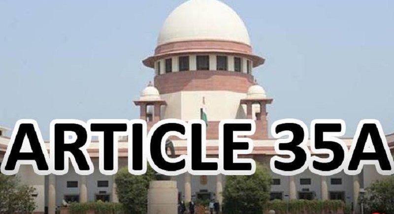 एक बार फिर टल गई अनुच्छेद 35A पर सुनवाई, आखिर क्यों हो रही है इसपर चर्चा