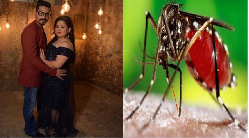 कॉमेडी क्वीन भारती सिंह उनके पति हर्ष को हुआ डेंगू, आप कैसे करें बचाव