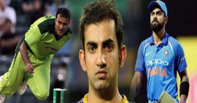 क्यों पाकिस्तान के इस खिलाड़ी पर भड़के गंभीर, कह डाली ये बड़ी बात