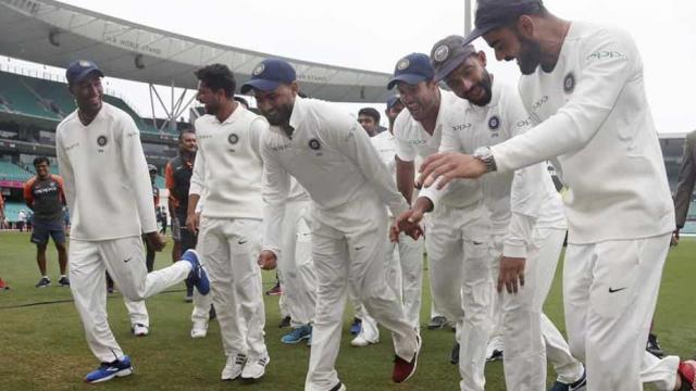 भारतीय टीम ने जीता 2-1 से सीरीज, कुछ इस अंदाज में मनाया जश्न