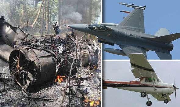 भारत ने पाकिस्तान को दिया मुहतोड़ जवाब... पाकिस्तान के F16 को मार गिराया है