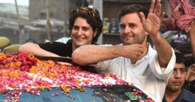 प्रियंका का आज लखनऊ में मेगा रोड शो, राहुल गांधी भी होंगे साथ