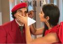 क्या हुआ जब अचानक रणवीर सिंह का मेकअप करने लगीं कटरीना, वीडियो वायरल