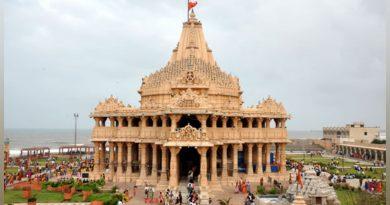 गुजरात के प्रसिद्ध श्री सोमनाथ मंदिर को श्रद्धालुओं के लिए खोला गया